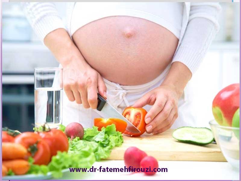 تغذیه در دوران بارداری و قبل از بارداری
